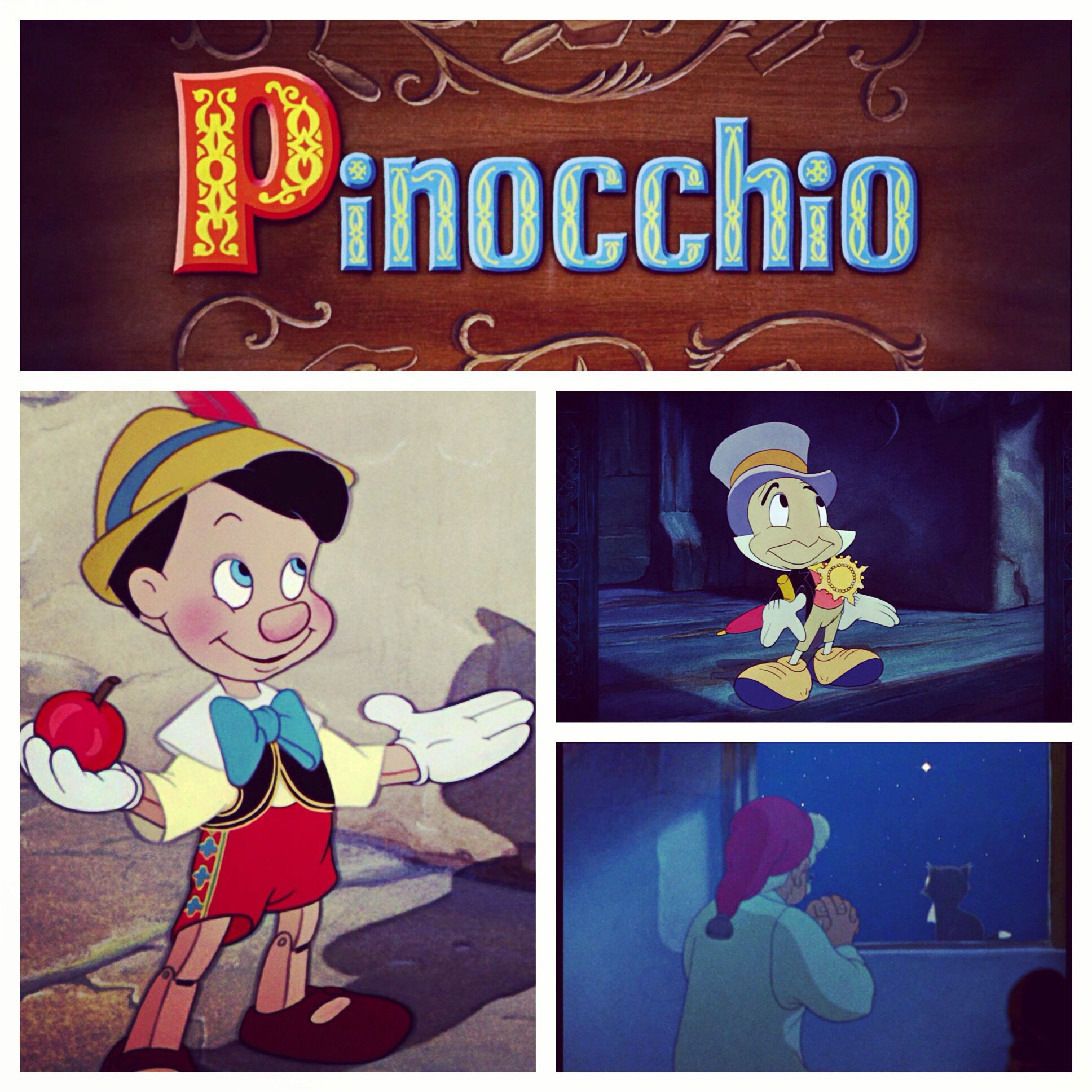 I Can T Wait To Record When You Wish Upon A Star From One Of My Favorite Disney Movies Pinocchio Puppet Jiminycricket G Blue Fairy Disney Carlo Collodi