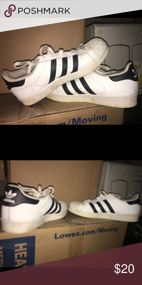 uk availability 35961 3b33e Used adidas. Worn maybe 10 times. I ll clean before I sell. adidas Shoes  Athletic Shoes