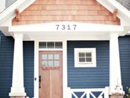exterior house paint color for navy blue exterior paint color
