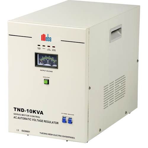 Meba Ac Stabilizer Tnd 10kva Voltage Regulator Communication System Practice