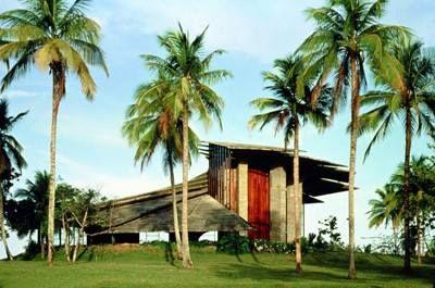 João Filgueiras Lima - Chapel at the Bahia administrative center, Salvador 1975