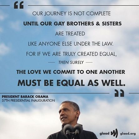 from Malcolm obama gay history