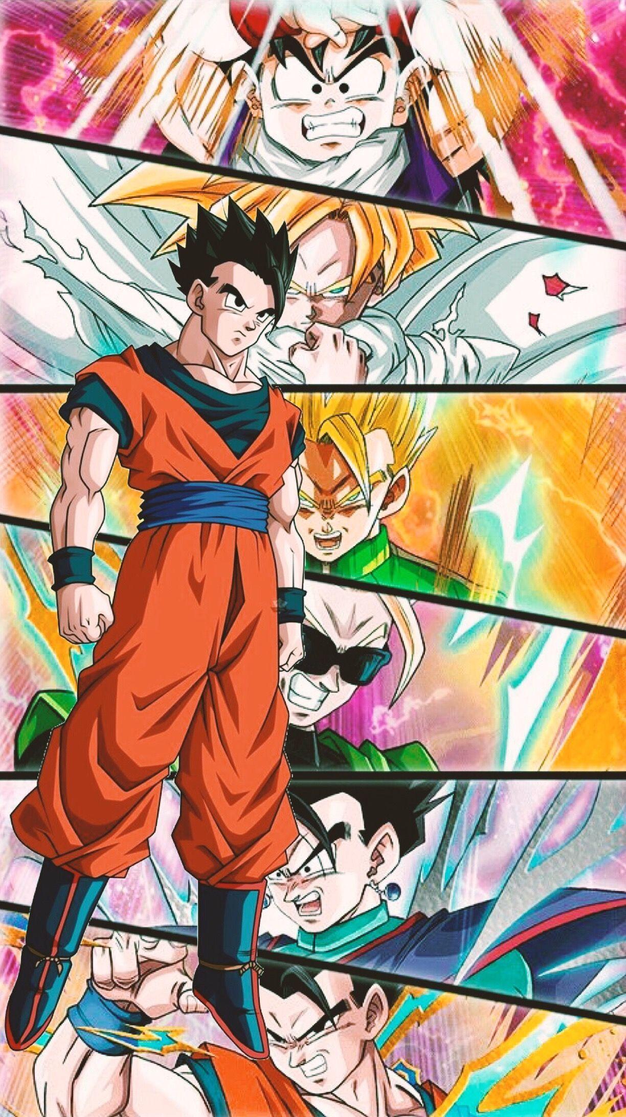 Son Gohan Dragon Ball Dragon Ball Gt Anime Personagens De Anime