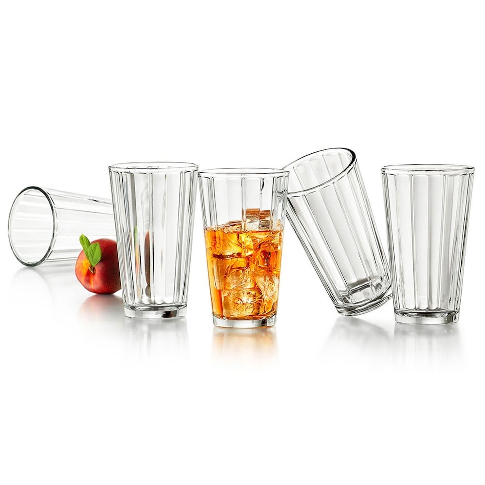 Libbey Abacus 8-pc. Cooler Glass Set | Glass, Shot glass, Tableware