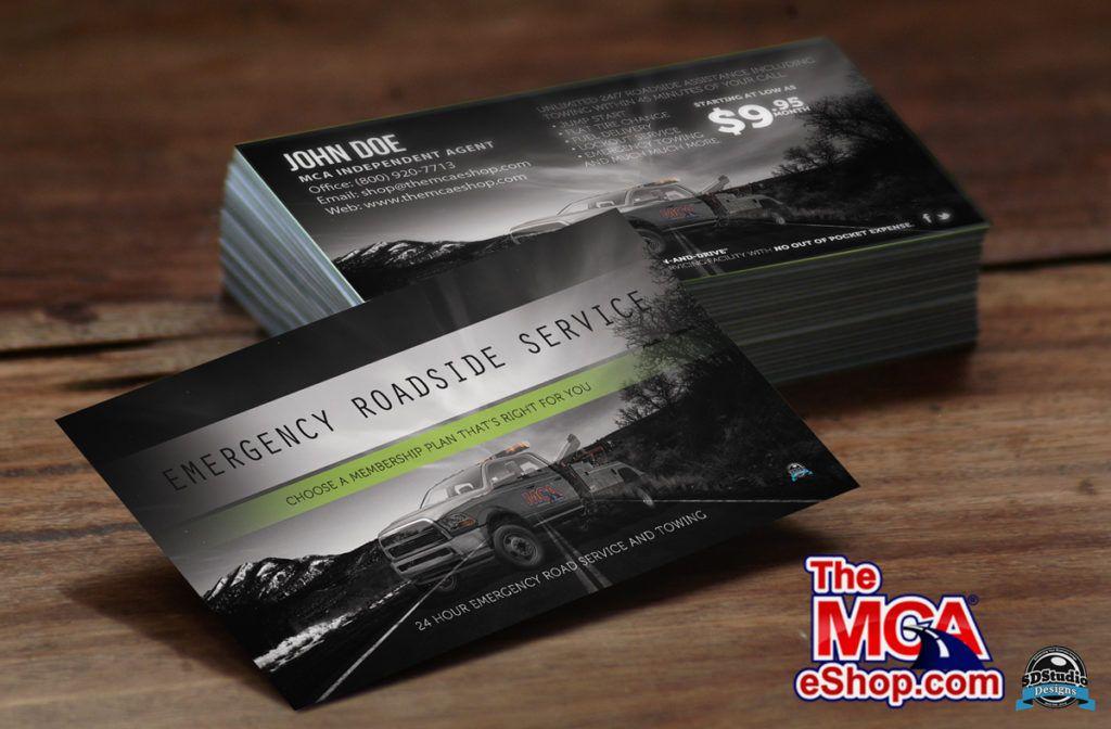 Mca Corporate Business V2 Card 2 Sided Design Elegant Business Cards Blue Business Card Design Business Card Design