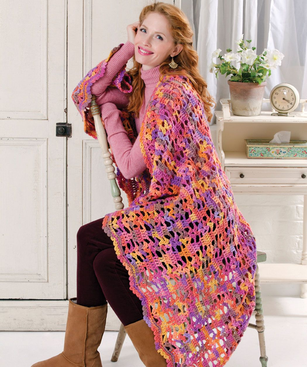 Color-ific One Piece Throw
