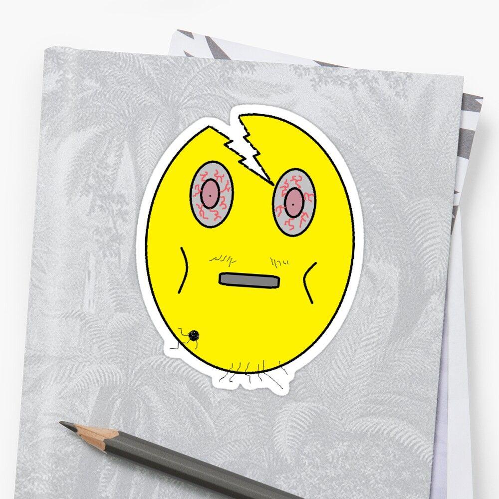 'Crackhead Emoji ' Sticker by BushBilly in 2020 Emoji