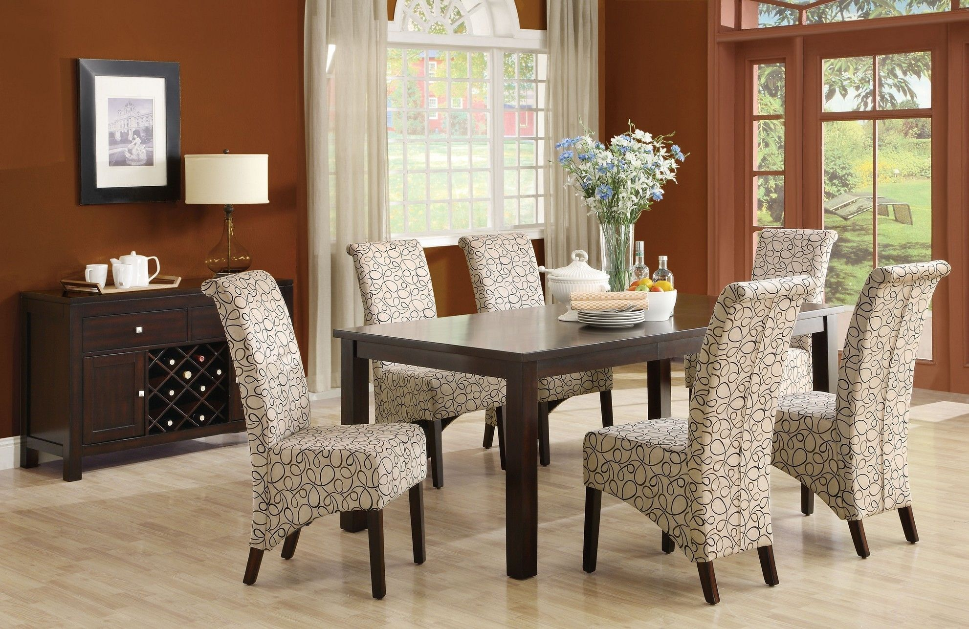Superbe Awesome Zebra Print Dining Room Chairs