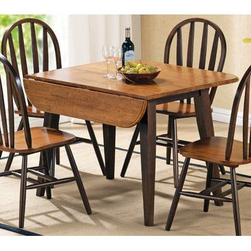 Steve Silver Seattle Double Drop Leaf Dining Table - BEYOND Stores