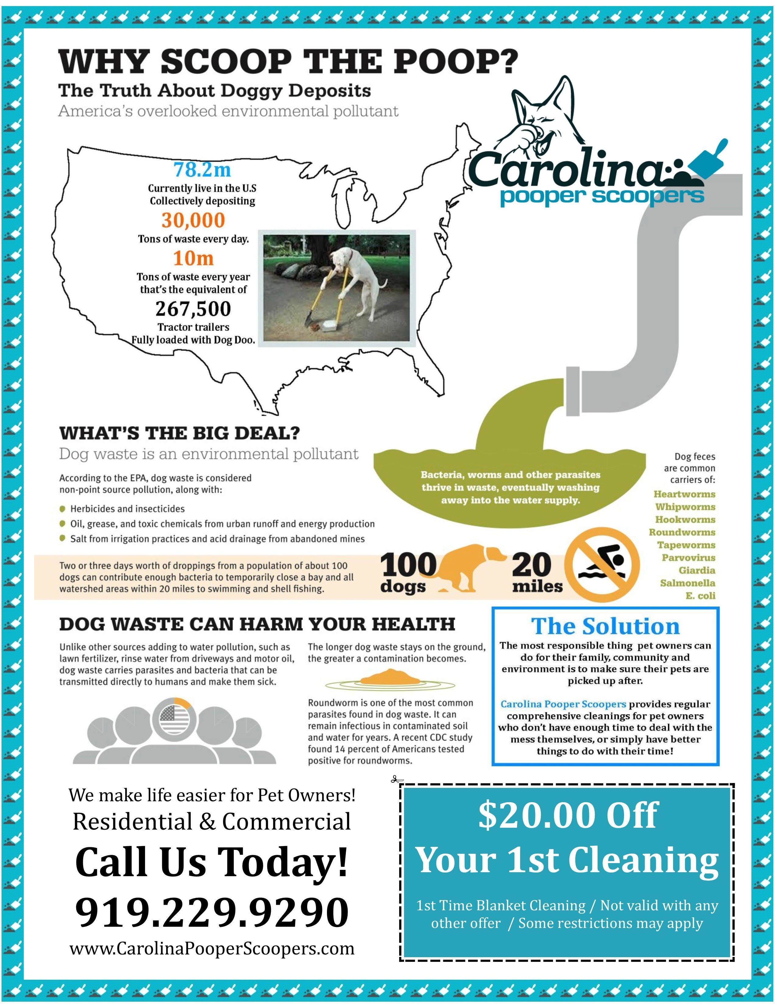 Carolina Pooper Scoopers Is A Raleigh Nc Based Animal Waste