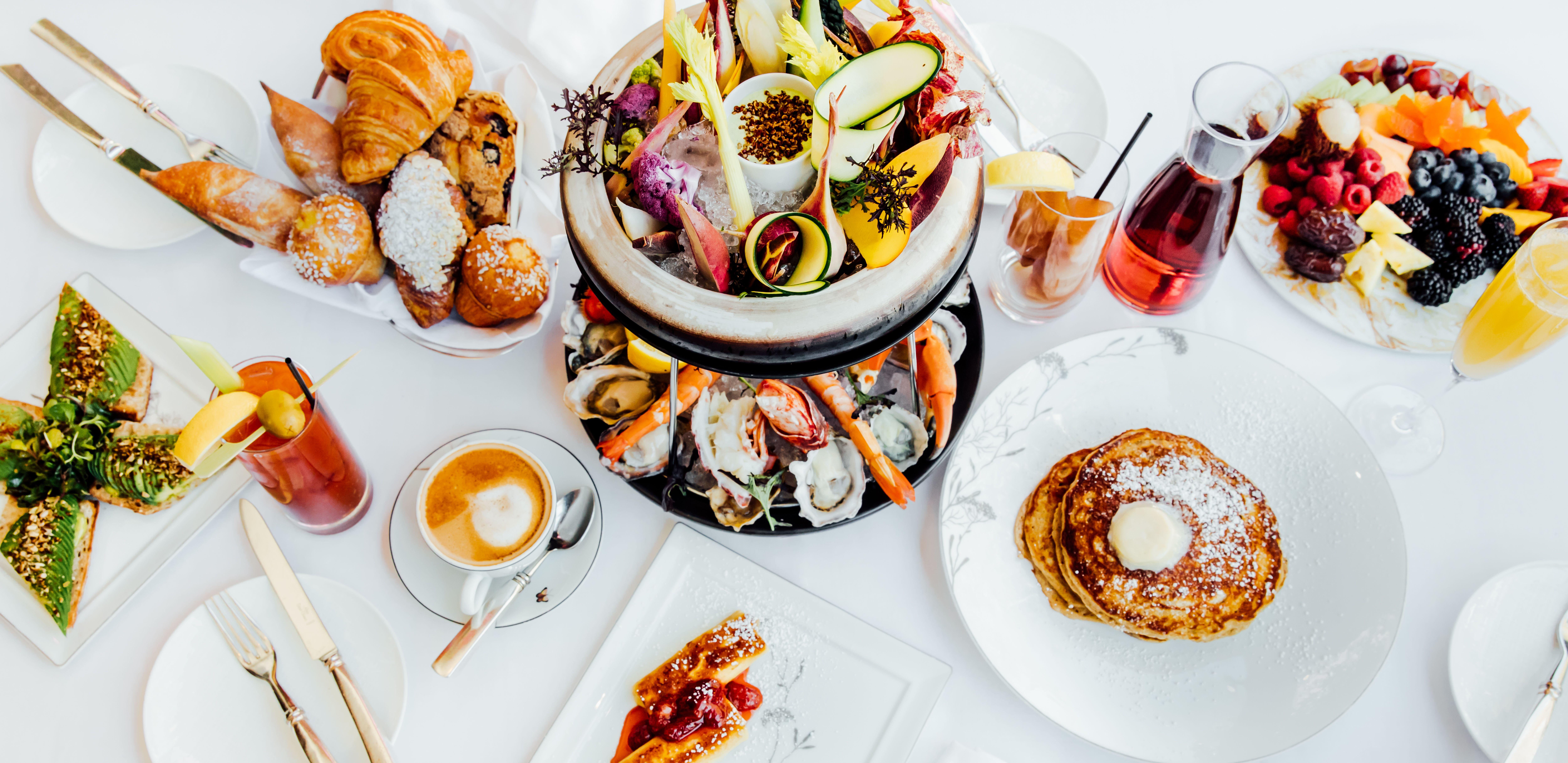 Wolfgang Puck Restaurant Hotel BelAir Food drink