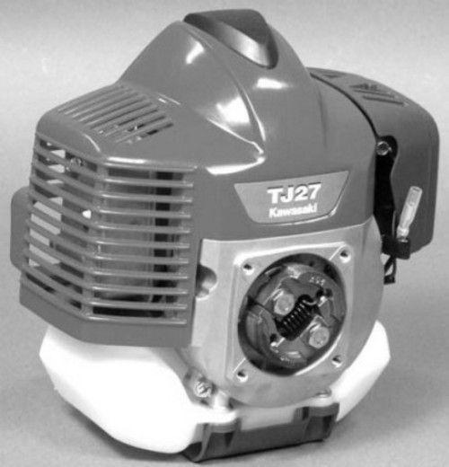 Diagram  Kawasaki Tj27d 2 Stroke Air Cooled Gasoline Engine Service Repair Workshop Manual