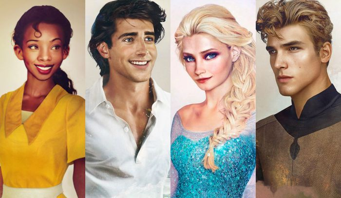 23 Realistic Drawings Of Disney Princes And Princesses That Will Bring Your Childhood To Life Disney Princes Real Life Disney Princes Disney Drawings
