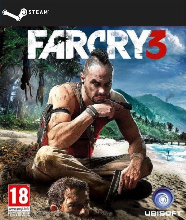 Far Cry 3 (STEAM GIFT) DIGITAL 7,60€