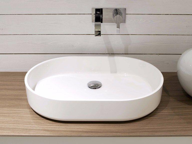Colombo Bagno ~ Prime lavabo da appoggio by inbani design norm architects