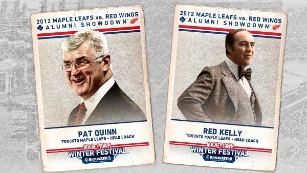 Pat Quinn & Red Kelly To Coach Alumni Showdown - Toronto Maple Leafs - News