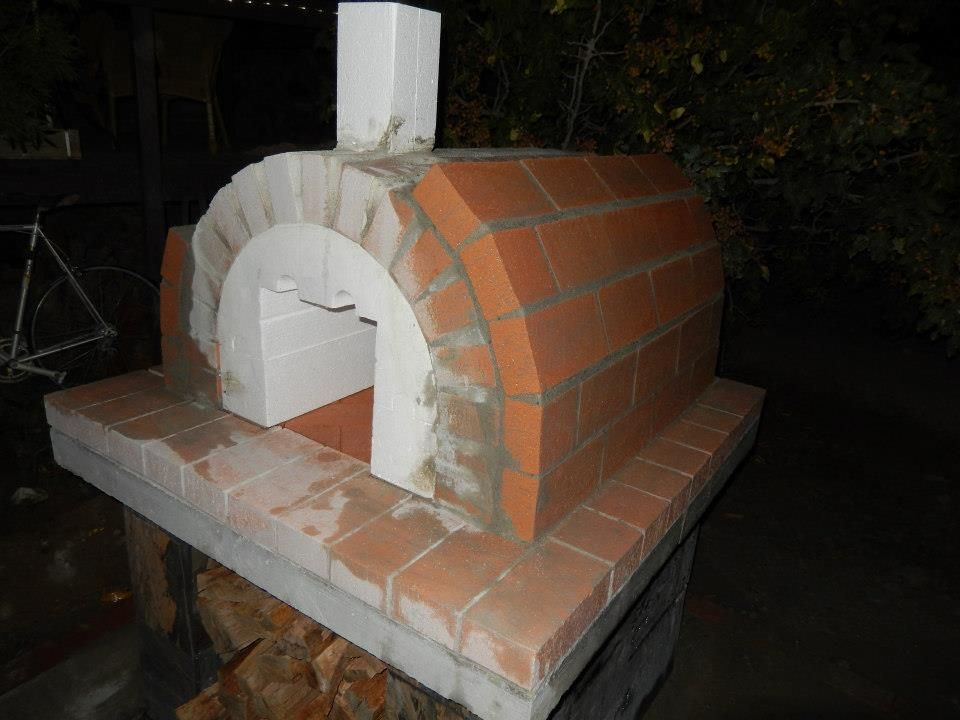 Brickwood Ovens The Brown Family Wood Fired Brick Pizza Oven