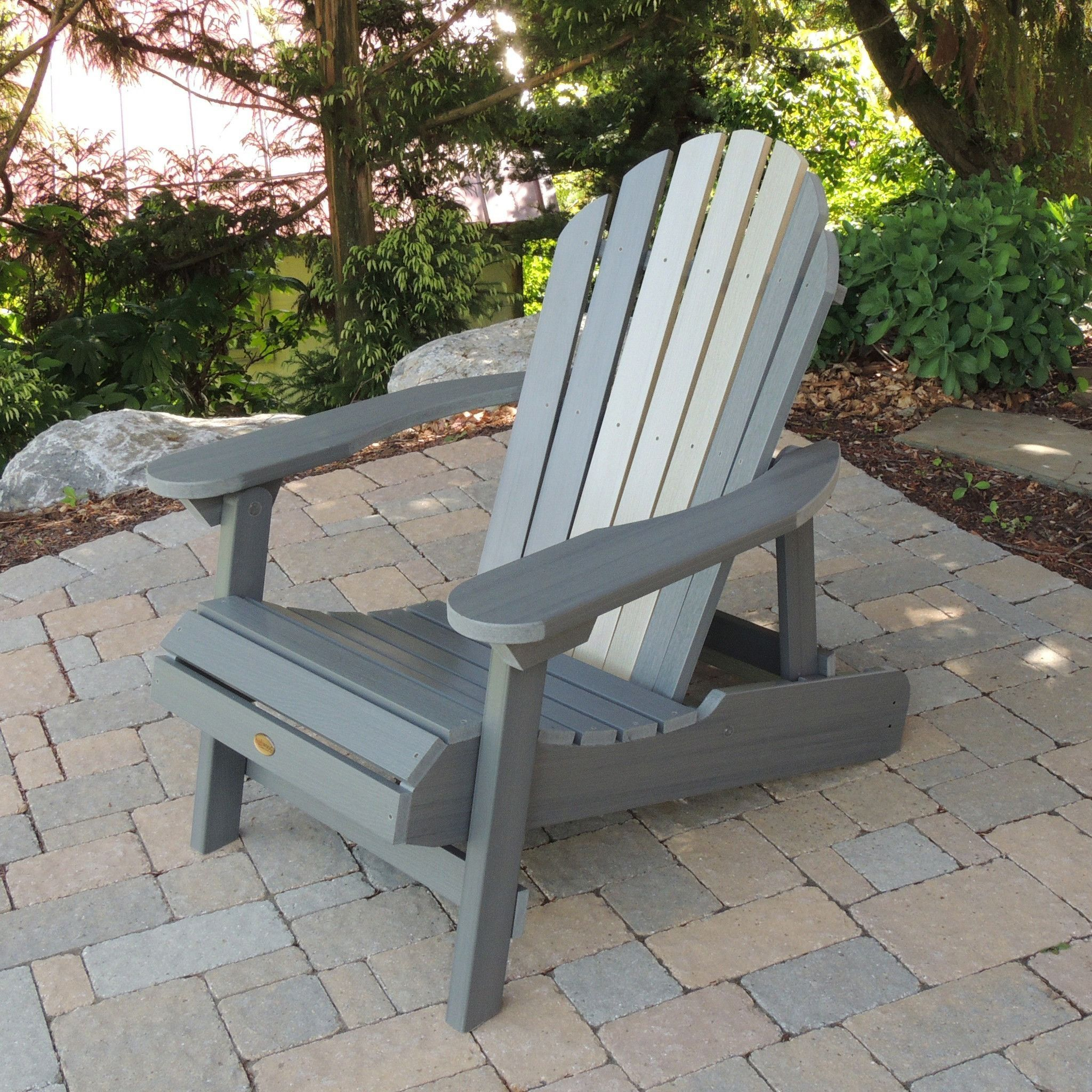 Highwood Adirondack Chair Hanging Support Usa Curved Back Hamilton Folding Reclining