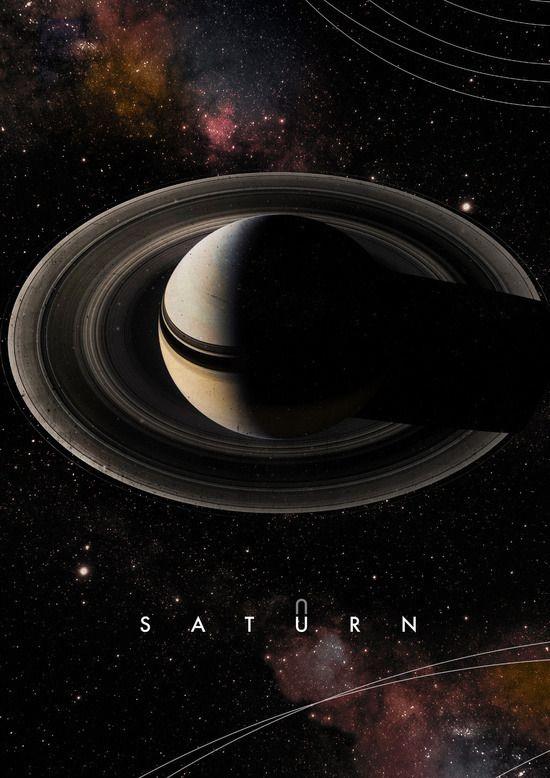 Saturn #astrologyaesthetic