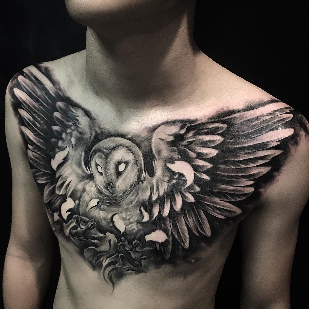 80+ Coolest 3D Owl Tattoo Art Design Ideas   Tattoo   Owl ...