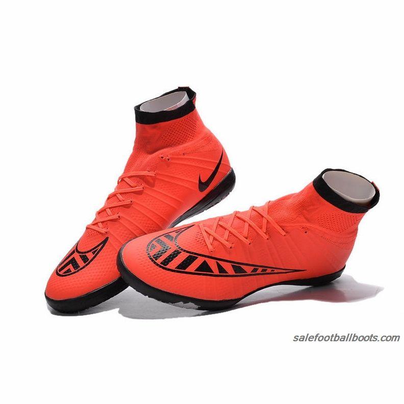 Women Nike MercurialX Proximo Street TF Bright Crimson Black