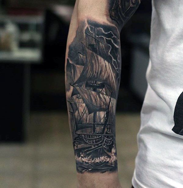 e73ee5217 60 Detailed Tattoos For Men - Intricate Ink Design Ideas | Classy ...