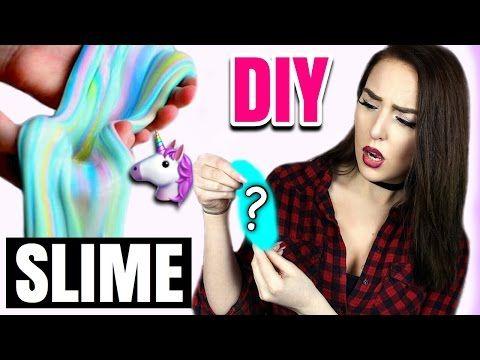 diy unicorn slime selber machen schleim diys deutsch. Black Bedroom Furniture Sets. Home Design Ideas