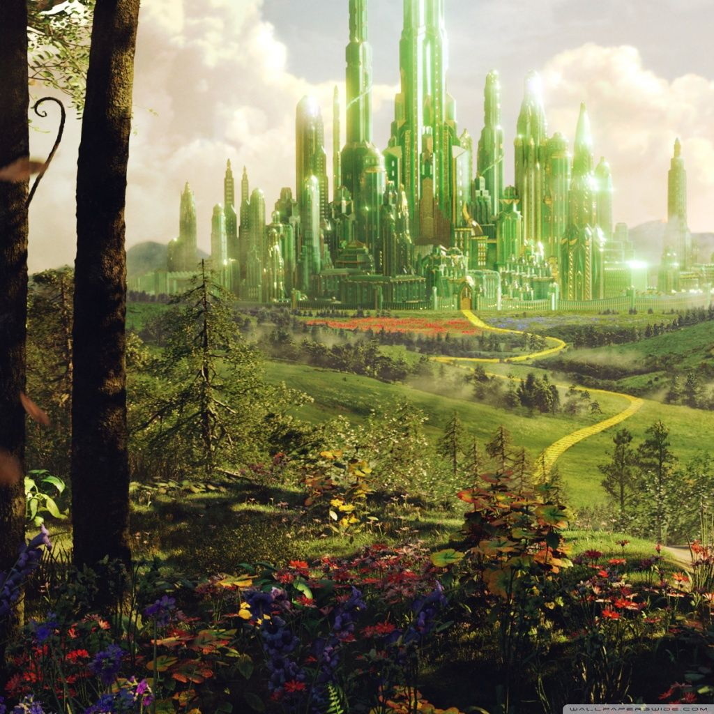 Download Oz The Great And Powerful Land Of Oz Hd Wallpaper With