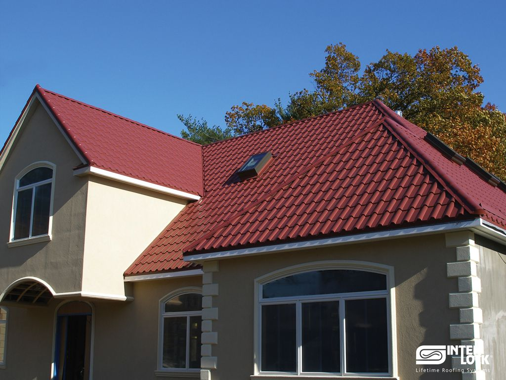 Aged Copper Interlock Tile Roof From Oregon. Installed By Interlock  Industries, Inc. 1 866 733 5811 | Interlock® Tile | Pinterest | Best Roofing,  ...
