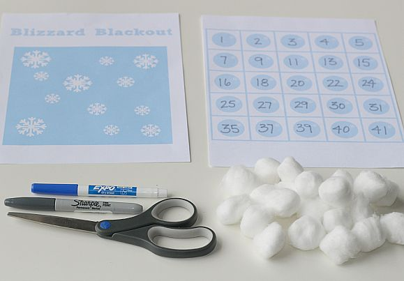 Blizzard Blackout: Printable Math Game | Free printable, Math and Gaming
