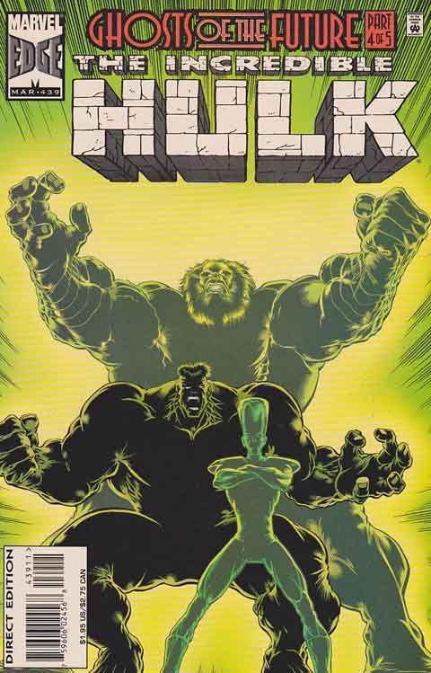 The Incredible Hulk #439 Peter David Script Cover and