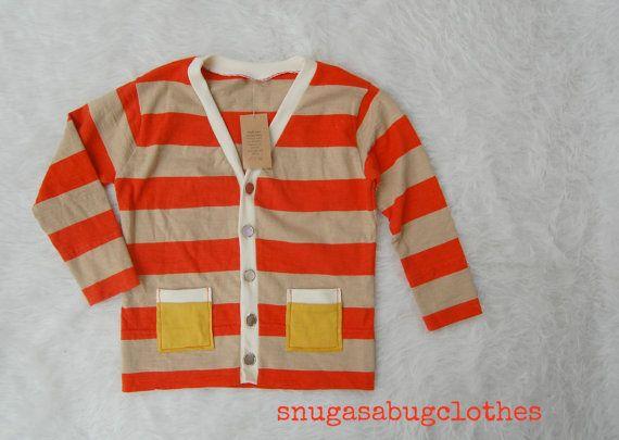 SALE 3T Toddler Boy Cardigan Grandpa Sweater by snugasabugclothes, $22.00