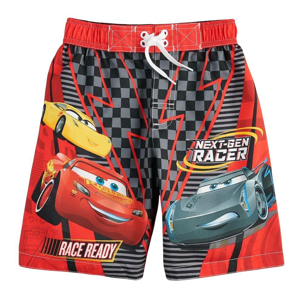 d64fc4c279 Disney / Pixar Cars 3 Boys 4-7 Swim Trunks | Products | Disney pixar ...