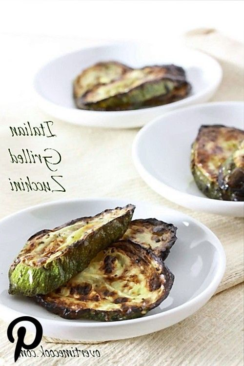 Italian Grilled Zucchini on Overtime Cook Italian Grilled Zucchini on Overtime Cook