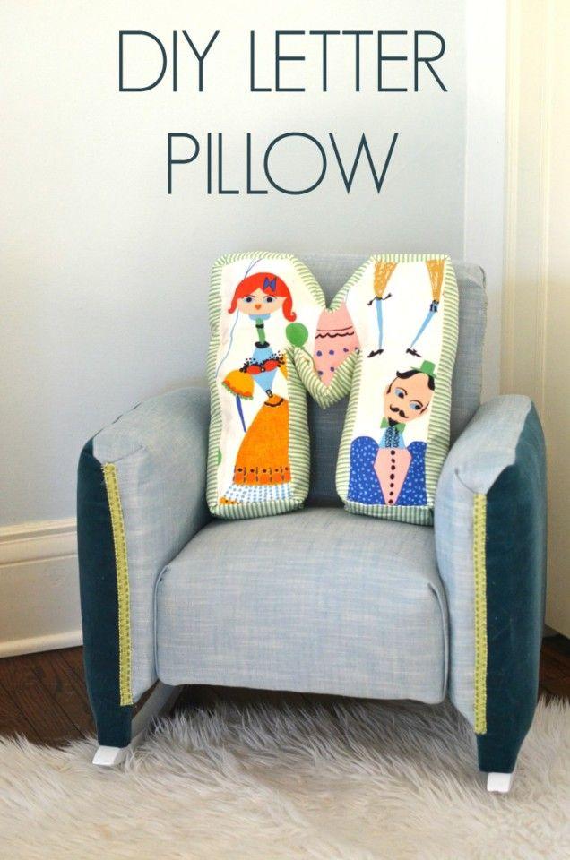 DIY Letter Pillow