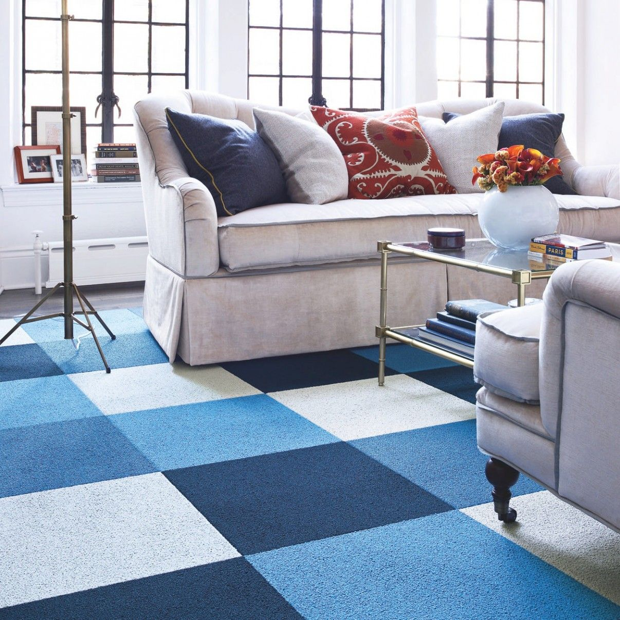 Some Kind Of Fun Color Flor Rug In Colors That Match Black Gray