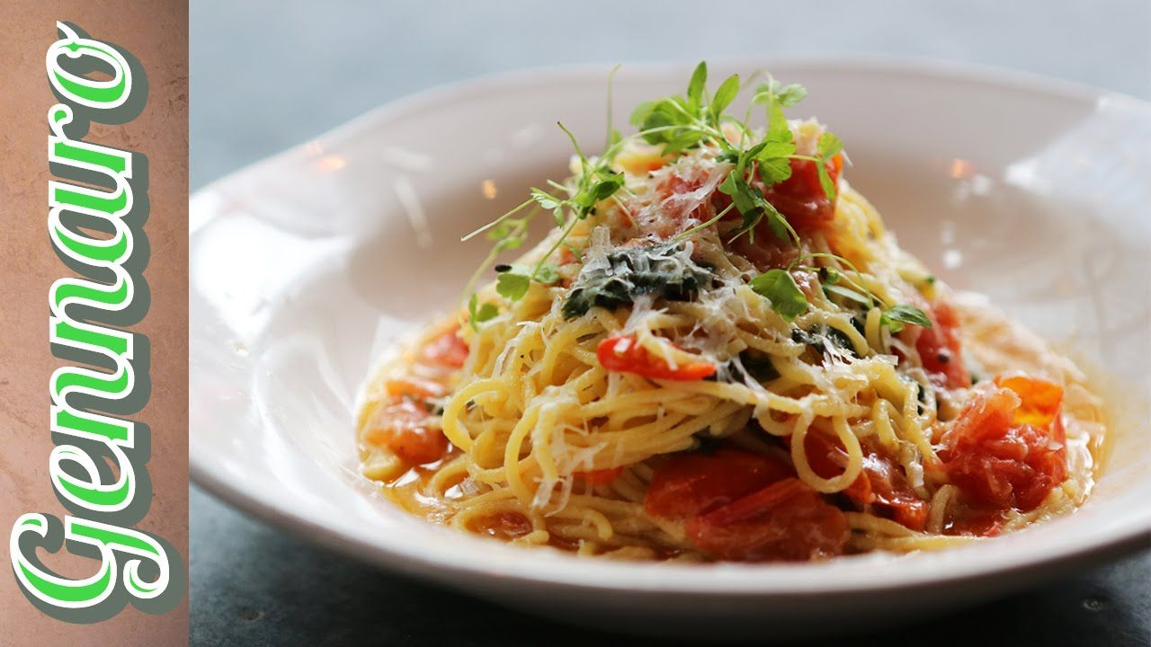 Gennaro is back in the kitchen of Jamie's Italian in Westfield - Stratford. Today he is making a gorgeous, simple tomato spaghetti which will get…