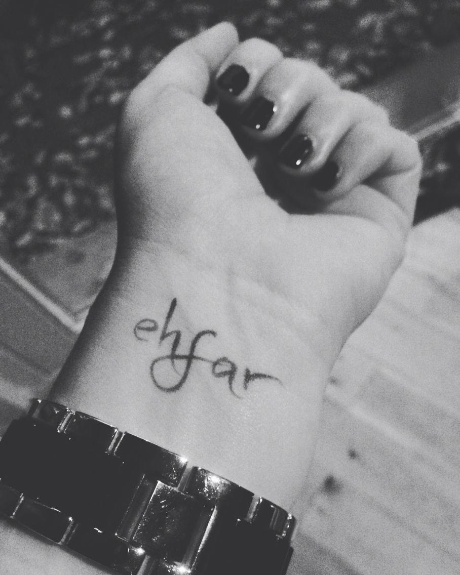 Ehfar temporary tattoo love it selfmade