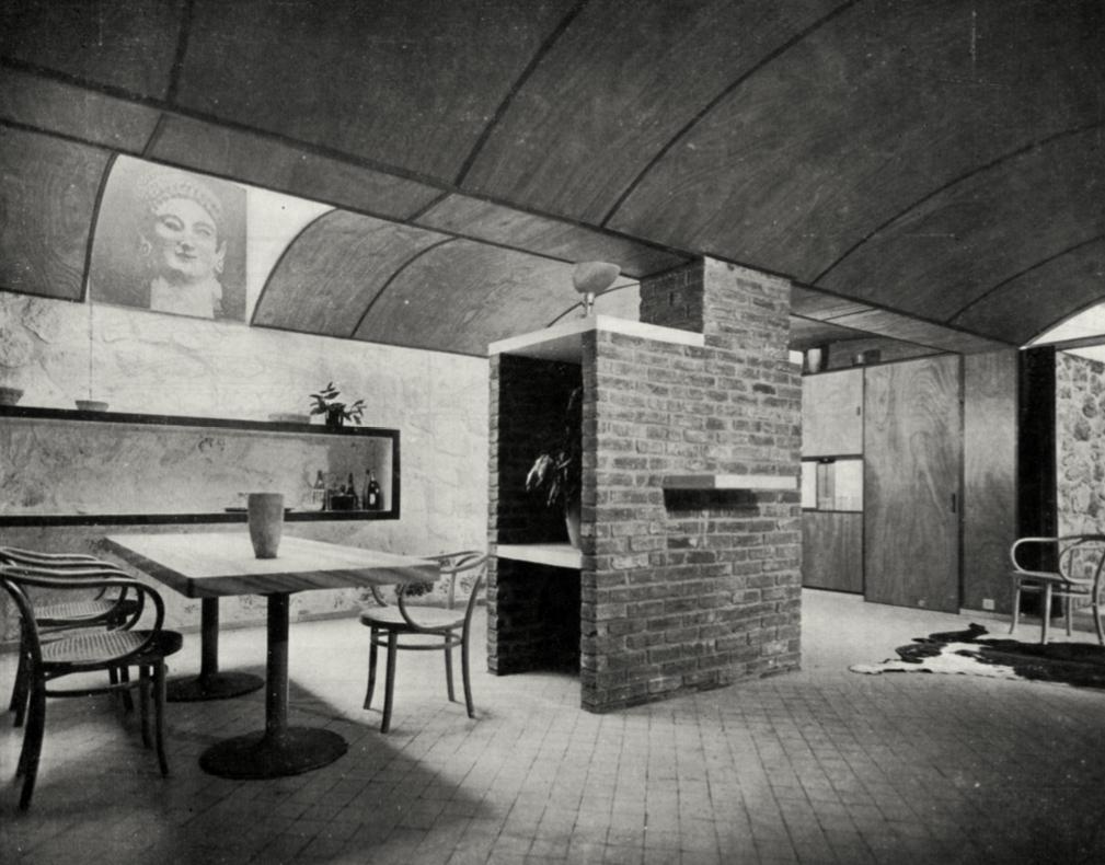 Le corbusier le petite maison de weekend villa henfel 1935 arquit m - Decoration le corbusier ...