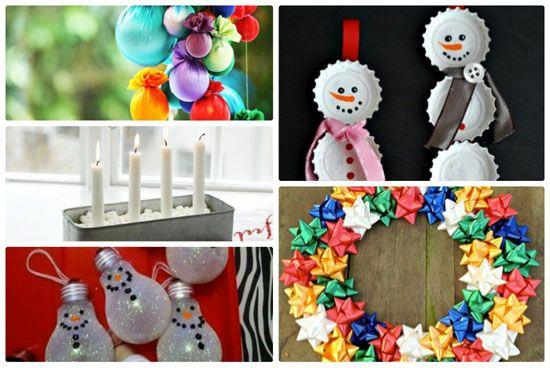 Manualidades navide as para hacer con ni os bricolage y - Trabajos manuales de navidad para ninos de primaria ...