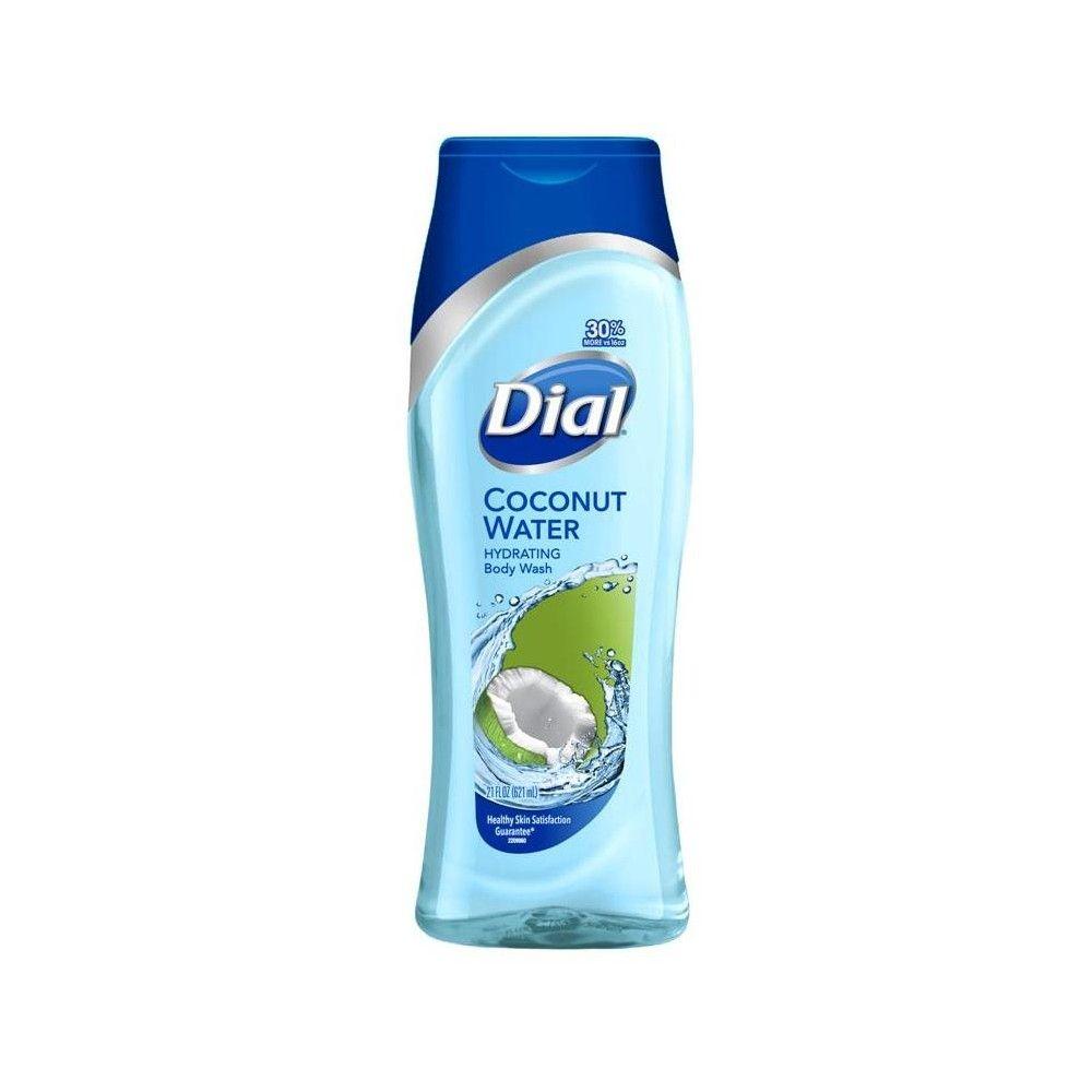 Dial Coconut Water Body Wash 21oz Body Wash Coconut Body Wash