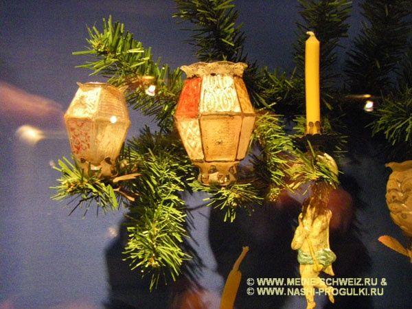Немецкий рождественский музей в Ротенбурге-на-Таубере.: