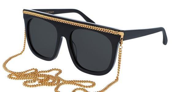 b1ed43098cb5c Falabella oversized glasses from Stella McCartney SC0043S 001  sunglasses   Luxury  StellaMcCartney