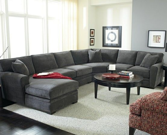 Tremendous Love Big Couches In Brown Living Room Sectional Grey Theyellowbook Wood Chair Design Ideas Theyellowbookinfo
