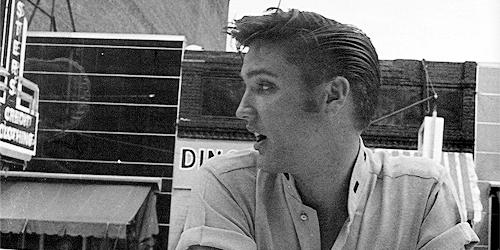 Elvis Presley by Lloyd Shearer, Memphis, July 1956.