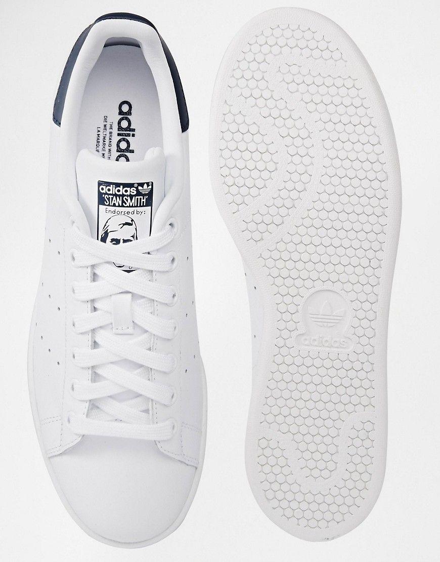 Immagine 3 dell'adidas stan smith e scarpe da ginnastica m20325 originali.