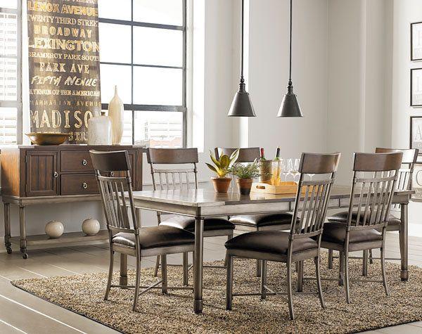 Standard Hudson Dining Set   DAWu0027S Home Furnishings | El Paso Furniture  Stores, El Paso