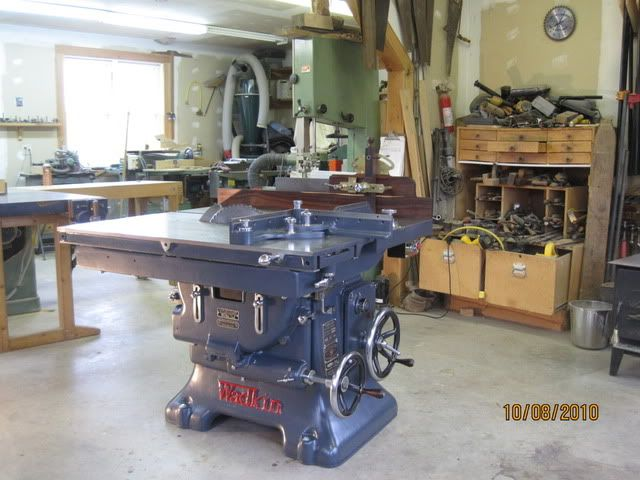 A Very Heavy Duty Wadkin Saw Table Now Just To Find One In Need