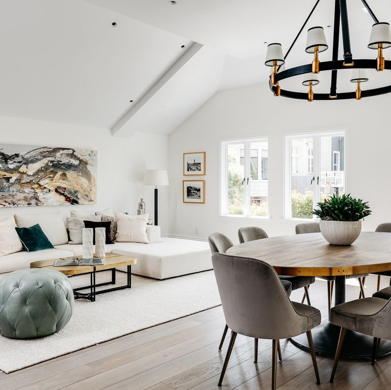 The Full House Home Is On The Market And We Re Taking A Look Inside Modern Dining Room Home Living Dining Room