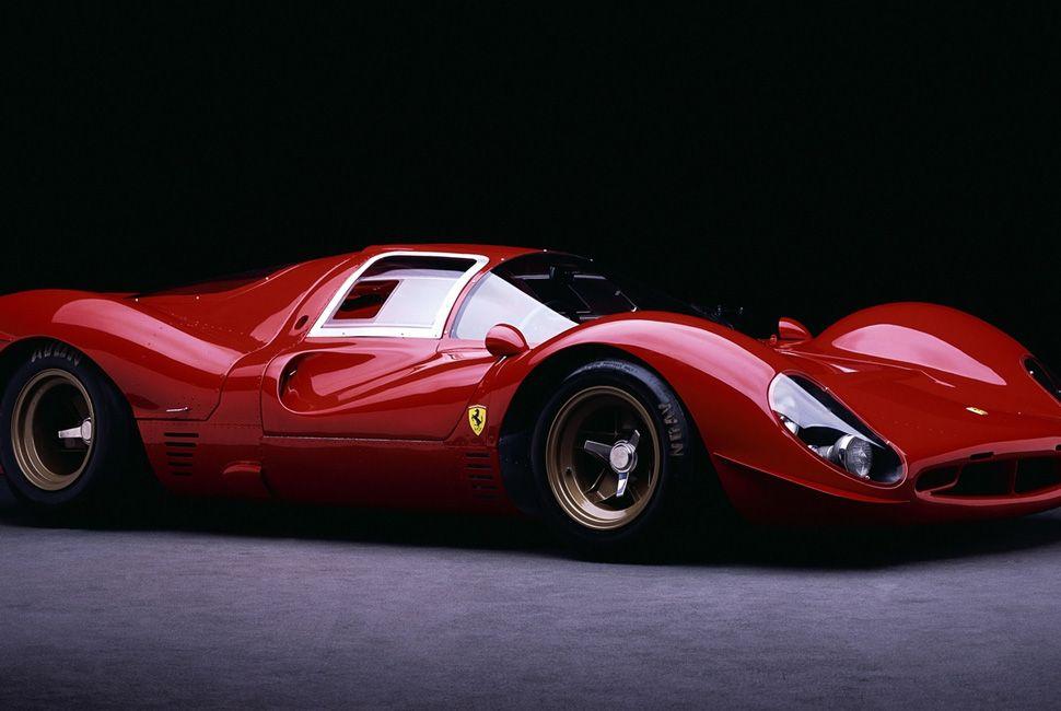 Icon 1966 1967 Ferrari 330 P3 And P4 Super Cars Classic Racing Cars Ferrari